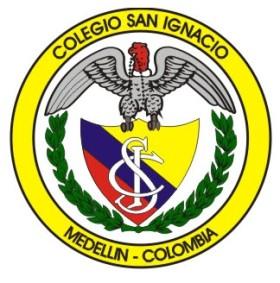 Colegio San Ignacio de Loyola - Escudo