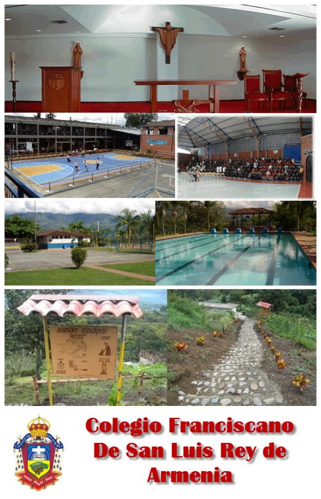 Colegio Franciscano De San Luis Rey en Armenia