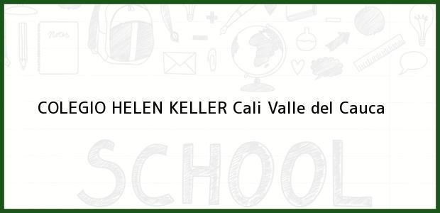 Teléfono, Dirección y otros datos de contacto para Colegio Helen Keller, Cali, Valle del Cauca, Colombia