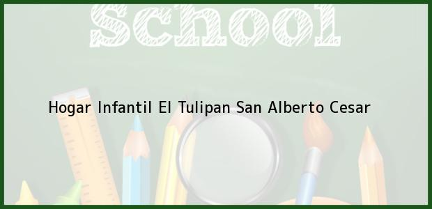 Teléfono, Dirección y otros datos de contacto para Hogar Infantil El Tulipan, San Alberto, Cesar, Colombia
