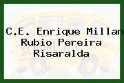 C.E. Enrique Millan Rubio Pereira Risaralda