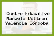 Centro Educativo Manuela Beltran Valencia Córdoba