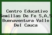 Centro Educativo Semillas De Fe S.A.S Buenaventura Valle Del Cauca