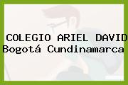 COLEGIO ARIEL DAVID Bogotá Cundinamarca