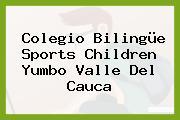 Colegio Bilingüe Sports Children Yumbo Valle Del Cauca