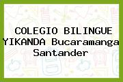 Colegio Bilingue Yikanda Bucaramanga Santander