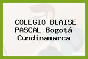 Colegio Blaise Pascal Bogotá Cundinamarca
