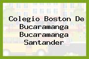 Colegio Boston De Bucaramanga Bucaramanga Santander