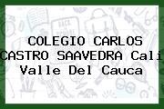 Colegio Carlos Castro Saavedra Cali Valle Del Cauca