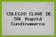 COLEGIO CLAVE DE SOL Bogotá Cundinamarca