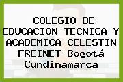 Colegio De Educacion Tecnica Y Academica Celestin Freinet Bogotá Cundinamarca