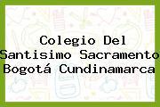 Colegio Del Santisimo Sacramento Bogotá Cundinamarca