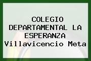 Colegio Departamental La Esperanza Villavicencio Meta