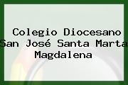 Colegio Diocesano San Jose Santa Marta Magdalena