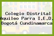 Colegio Distrital Aquileo Parra I.E.D. Bogotá Cundinamarca