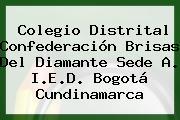 Colegio Distrital Confederación Brisas Del Diamante Sede A I.E.D. Bogotá Cundinamarca