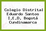 Colegio Distrital Eduardo Santos I.E.D. Bogotá Cundinamarca