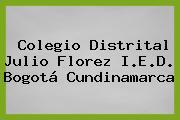 Colegio Distrital Julio Florez I.E.D. Bogotá Cundinamarca