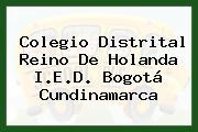 Colegio Distrital Reino De Holanda I.E.D. Bogotá Cundinamarca