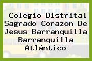 Colegio Distrital Sagrado Corazon De Jesus Barranquilla Barranquilla Atlántico