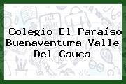 Colegio El Paraíso Buenaventura Valle Del Cauca