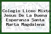 Colegio Liceo Mixto Jesus De La Buena Esperanza Santa Marta Magdalena