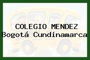 COLEGIO MENDEZ Bogotá Cundinamarca