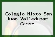 Colegio Mixto San Juan Valledupar Cesar