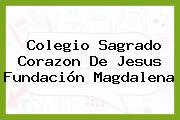 Colegio Sagrado Corazon De Jesus Fundación Magdalena
