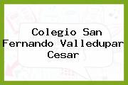 Colegio San Fernando Valledupar Cesar
