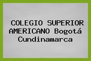 Colegio Superior Americano Bogotá Cundinamarca