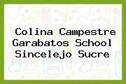 Colina Campestre Garabatos School Sincelejo Sucre