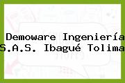 Demoware Ingeniería S.A.S. Ibagué Tolima