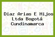 Diaz Arias E Hijos Ltda Bogotá Cundinamarca