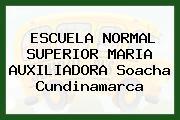 ESCUELA NORMAL SUPERIOR MARIA AUXILIADORA Soacha Cundinamarca