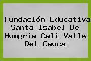 Fundación Educativa Santa Isabel De Humgría Cali Valle Del Cauca