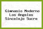 Gimnasio Moderno Los Angeles Sincelejo Sucre