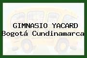 Gimnasio Yacard Bogotá Cundinamarca