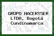 Grupo Haceryser Ltda. Bogotá Cundinamarca