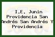 I.E. Junin Providencia San Andrés San Andrés Y Providencia