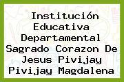 Institución Educativa Departamental Sagrado Corazon De Jesus Pivijay Pivijay Magdalena