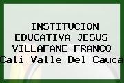 Institucion Educativa Jesus Villafane Franco Cali Valle Del Cauca