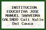 Institución Educativa José Manuel Saavedra Galindo Cali Valle Del Cauca