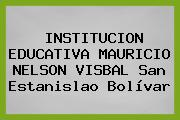 Institucion Educativa Mauricio Nelson VIsbal San Estanislao Bolívar