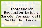 Institución Educativa Nelson Garcés Vernaza Cali Valle Del Cauca