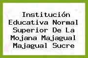 Institución Educativa Normal Superior De La Mojana Majagual Majagual Sucre