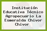 Institución Educativa Técnico Agropecuario La Esmeralda Chivor Chivor