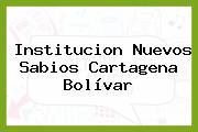 Institucion Nuevos Sabios Cartagena Bolívar