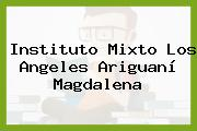 Instituto Mixto Los Angeles Ariguaní Magdalena