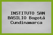 Instituto San Basilio Bogotá Cundinamarca